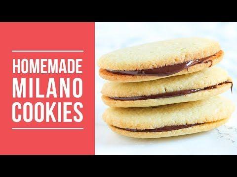 Homemade Milano Cookies | DIY Copycat Recipe! - YouTube
