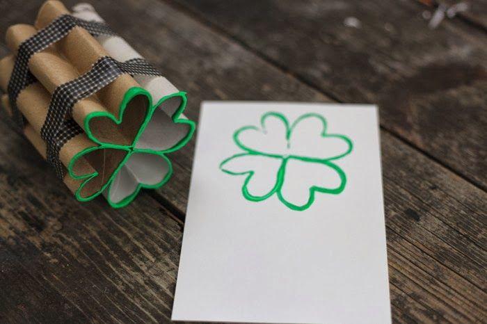 O de Opinar: Carimbos feitos com papelão reciclado
