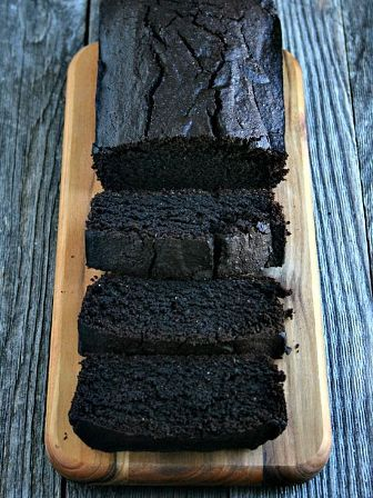 Chocolate Red Wine Loaf Cake-It is one deliciously sweet way to celebrate this holiday season.