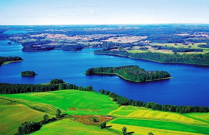 Great Mazury Lakes