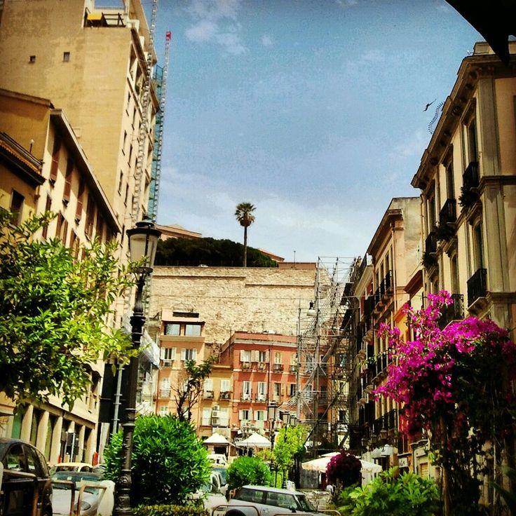 Glimpses of city Cagliari