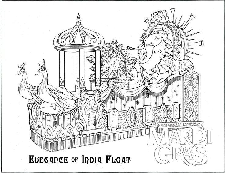 Elegance Of India Mardi Gras Float