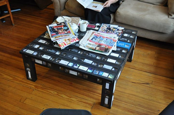 Vhs Table Vhs Table Pinterest Tables