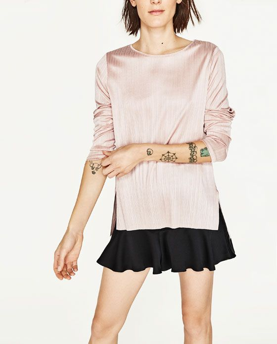 Image 2 of LONG SLEEVE SWEATER from Zara