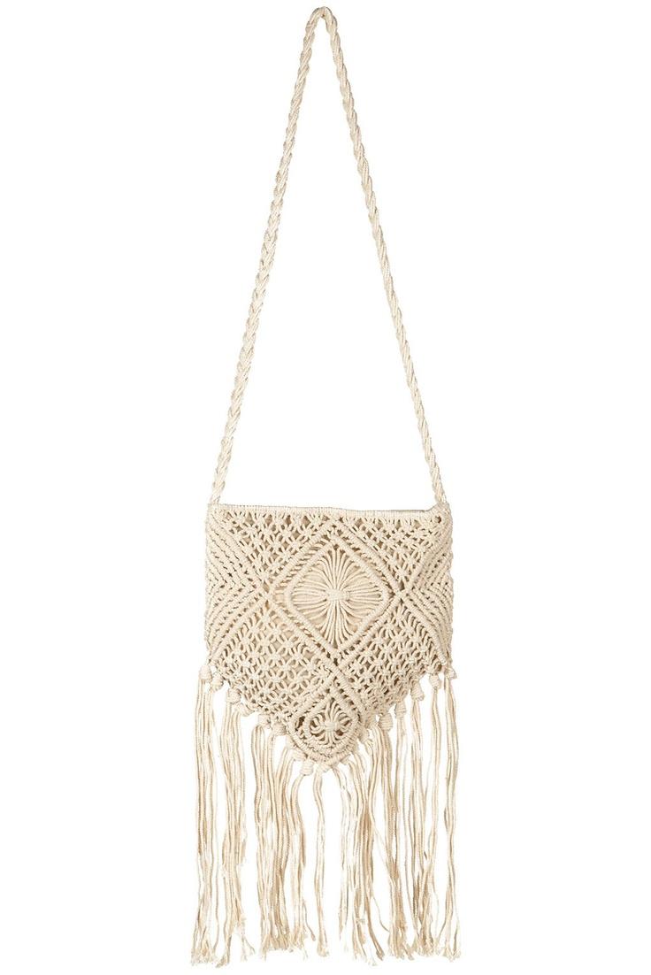 1000 ideas about macrame bag on macrame knots