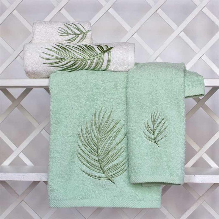 Terry Hand And Guest Towels Available In Different Colors On Background And  On Embroidery. Enjoy Yourself To Create A New Atmosphere On Your Bathroom  And ...