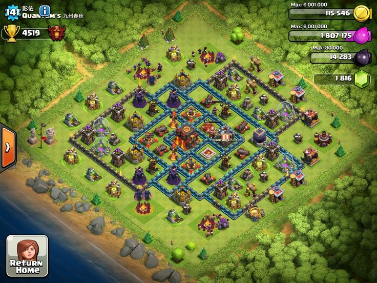 clash of clans facebook link device