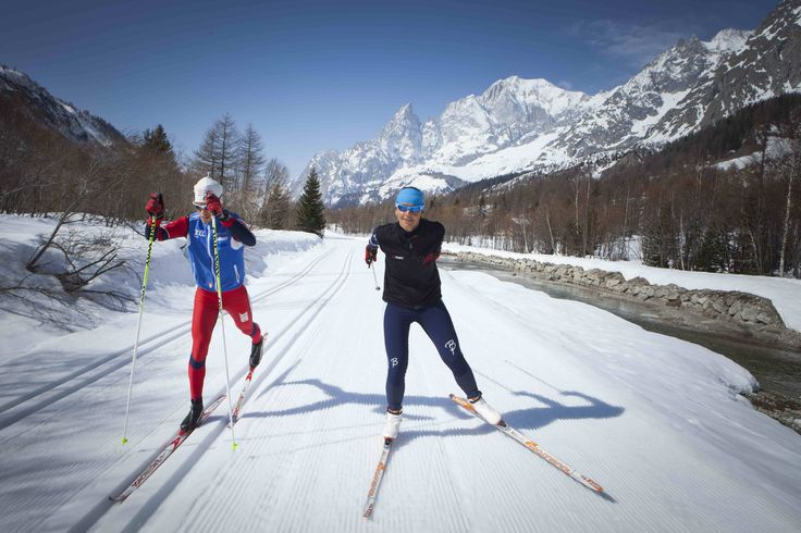 Have you ever tried skiing of the cross-country variety? Experience it in Courmayeur, Italy. #skiing #ski #italy #snow #alps