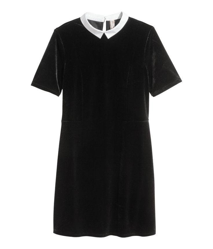 Velour Dress | H&M Divided