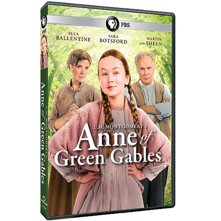 L.M. Montgomery's Anne of Green Gables -  A new adaptation of the classic series, this film is set in 1907 on beautiful Prince Edward Island. Anne Shirley is sent there to Matthew and Marilla Cuthbert, a middle-aged brother and sister who wanted to adopt a boy. Anne must make her way with the Cuthberts, in school, and in Avonlea to ensure she is never sent back to the orphanage again. Director: John Kent Harrison, Starring: Ella Ballentine, Martin Sheen, Sara Botsford