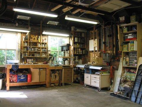 2 car garage with shop my ideal workshop pinterest for Garage ideal auto lanester