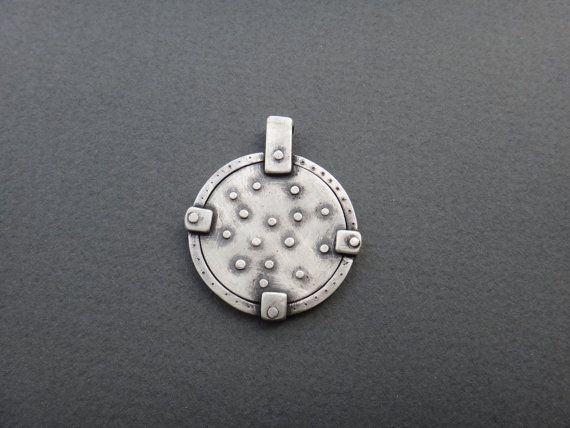 Stars Medallion Pendant Constellation by EyvindsAlchemy on Etsy