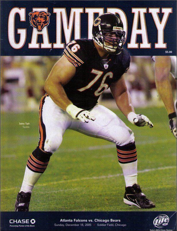 Nfl Football Gameday Program Book Atlanta Falcons Vs Chicago Bears Sunday Dec Chicago Bears Atlanta Falcons Nfl Football