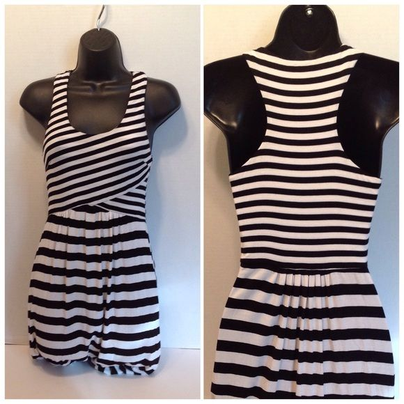 Bebe High Low Black White Dress - Size Small Coming soon... bebe Dresses High Low