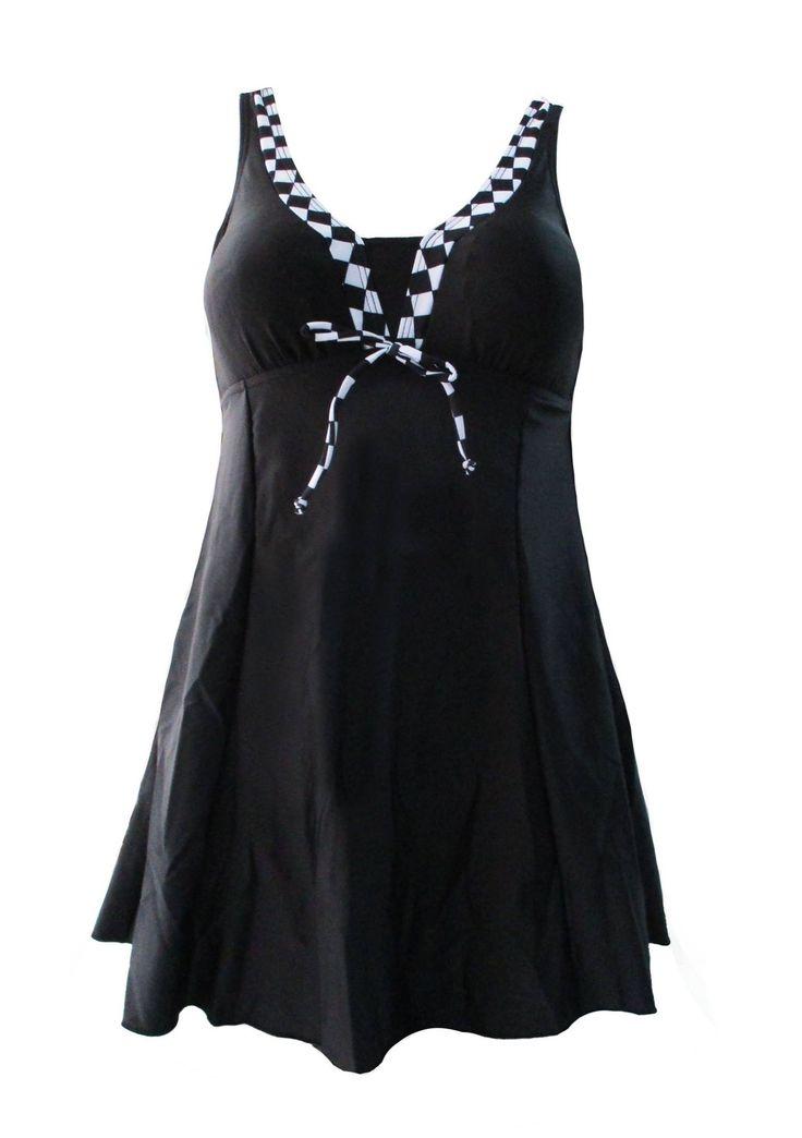 Maillot robe Damier pour vous sublimer cet été.http://bodylove.ma/portrait-133-0-beachwear-0.html