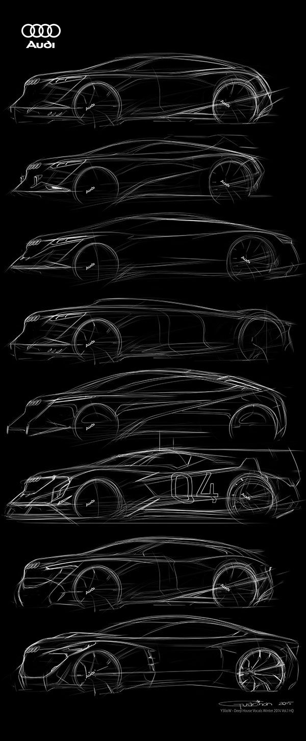 AUDI Free Sketches on Behance