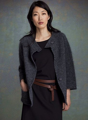 Eileen Fisher Now Making Clothes You May Want To Wear (PHOTOS)