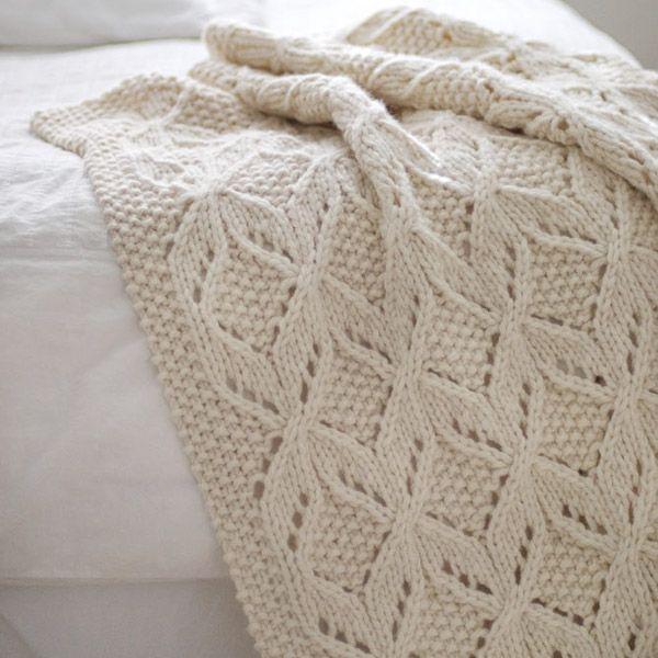 Umaro Baby Blanket - Knitting Patterns - Tangled Yarn UK