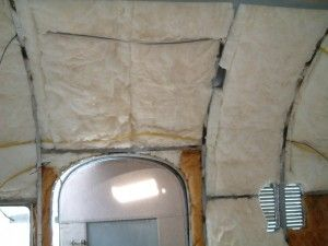 how to add insulation to motorhome