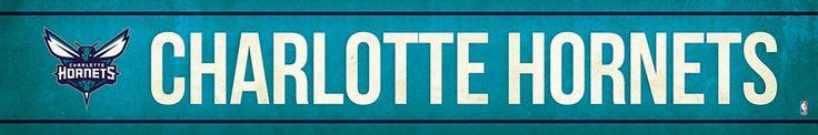 Charlotte Hornets Street Banner $19.99