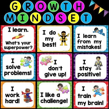 Students with a growth mindset are able to understand and celebrate the importance of problem solving, perseverance and learning from their mistakes. Introducing and discussing these growth mindset posters can help even the youngest of students take pride in doing their personal best and accepting new challenges.