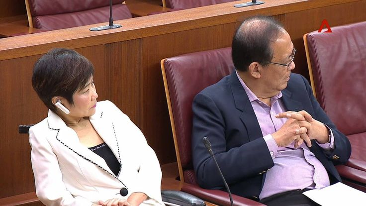 "WATCH: ""Is blood not thicker than water?"" MP Lim Biow Chuan says he's disappointed at those who asked PM Lee Hsien Loong to sue his siblings.  LIVE UPDATES: https://cna.asia/2tkKGT4"