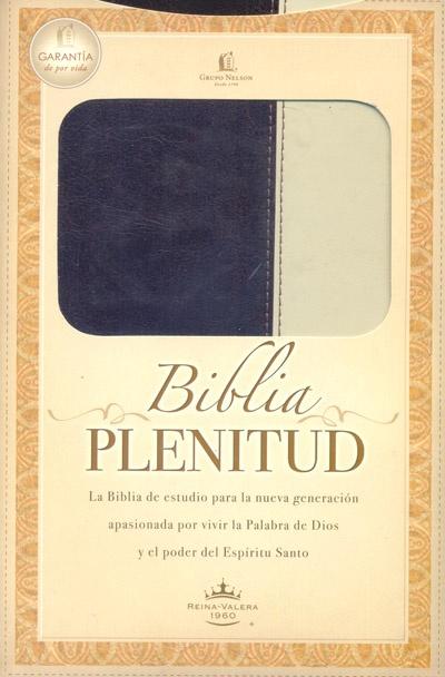 Biblia de estudio Plenitud Fina