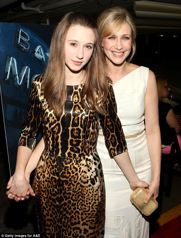 SIbling rivalry: Actresses and sisters Taissa and Vera Farmiga attend the premiere party of Bates Motel on Tuesday in West Hollywood
