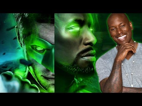Tyrese Gibson Teases GREEN LANTERN Casting - AMC Movie News - YouTube.YAY john stewart/tyrese gibson and hal jordan/chris pine are the new green lanterns