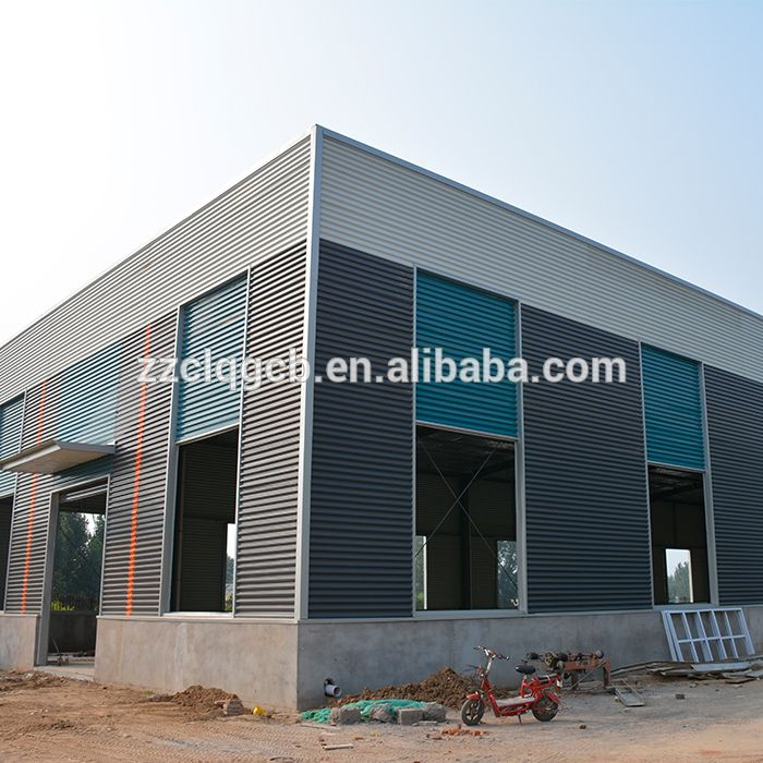 Easy Build Light Steel Prefab House With One Level Steel
