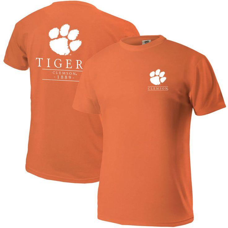Clemson Tigers Comfort Colors Mascot T-Shirt - Orange