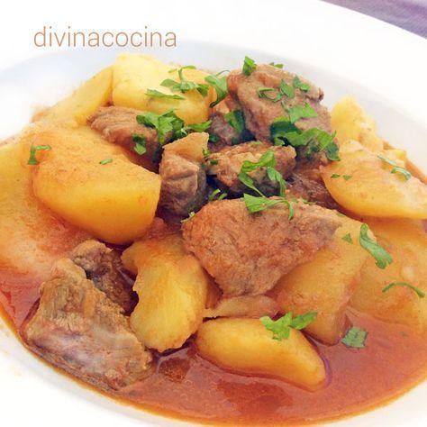 Esta receta de estofado de cerdo se puede preparar con lomo, solomillo (como en la foto) o cualquier corte de carne magra, a tu gusto.