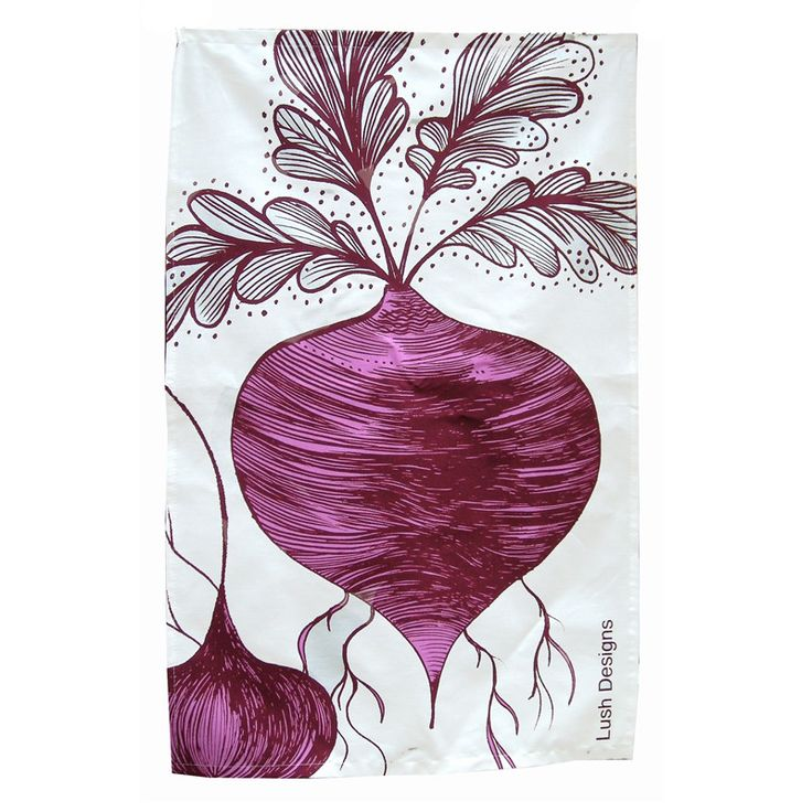Beetroot Tea Towel