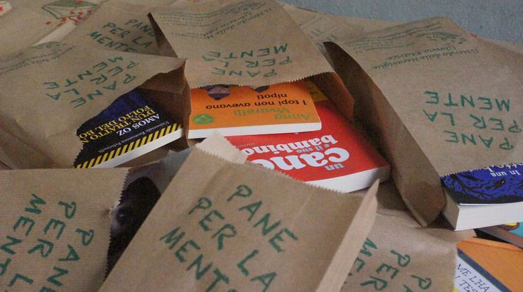 Le buste per i pacchi regalo della libreria il Mondo delle Meraviglie di Torino http://www.ilmondodellemeraviglie.com/libreria