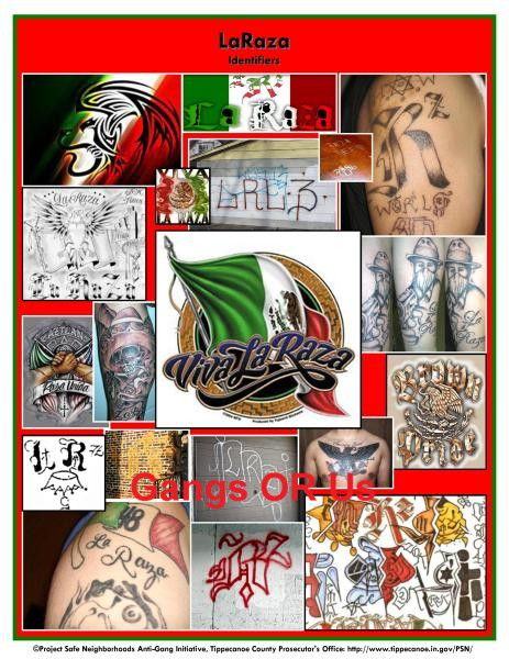 Examples Of Gang Identifiers Nortenos Gang Prison Tattoos
