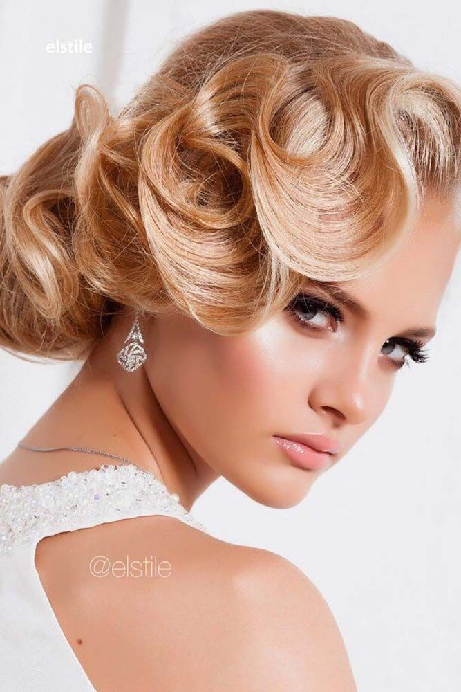30 Great Ideas Of Wedding Updos For Long Hair Romantic Wedding