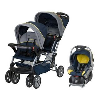 Baby Trend Baby Trend Sit N Stand Double Baby Stroller & Car Seat Travel System - Riveria
