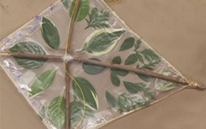Print Craft    Diamond Shaped Kite. Let's fly a kite! Make your own kite using materials found outside.