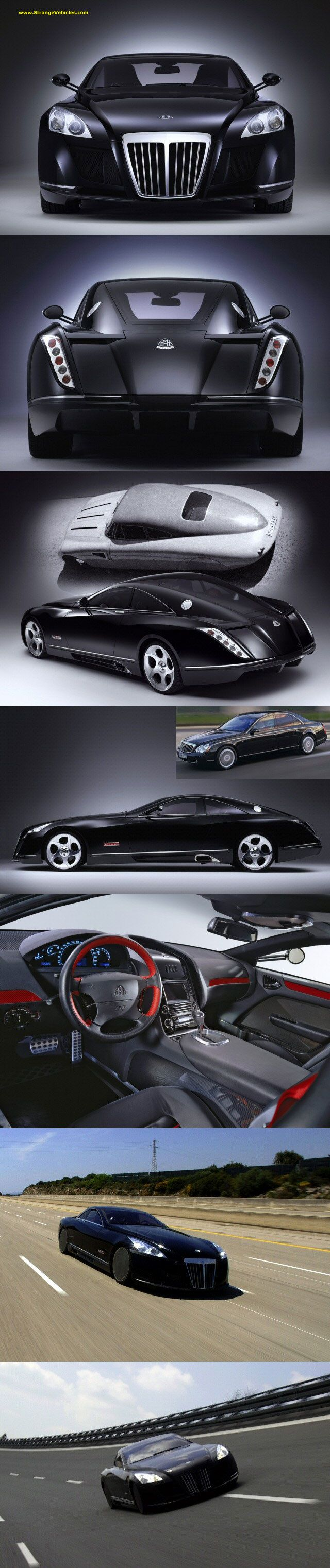 The $8 Million Supercar  Maybach Exelero.