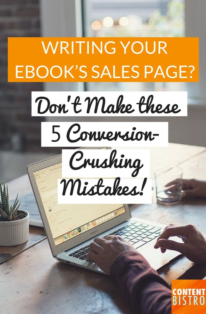 how to write a sales page