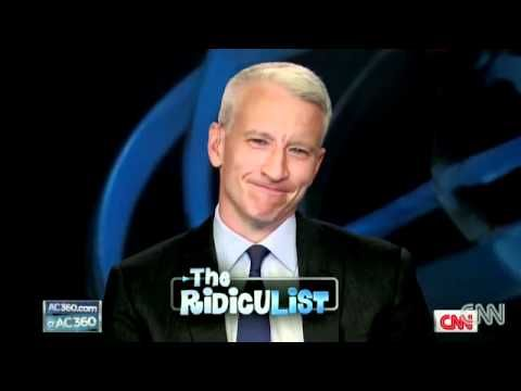 Anderson Cooper Laughing Attack. Seriously never fails to make me smile. His giggle is freaking ADORABLE!
