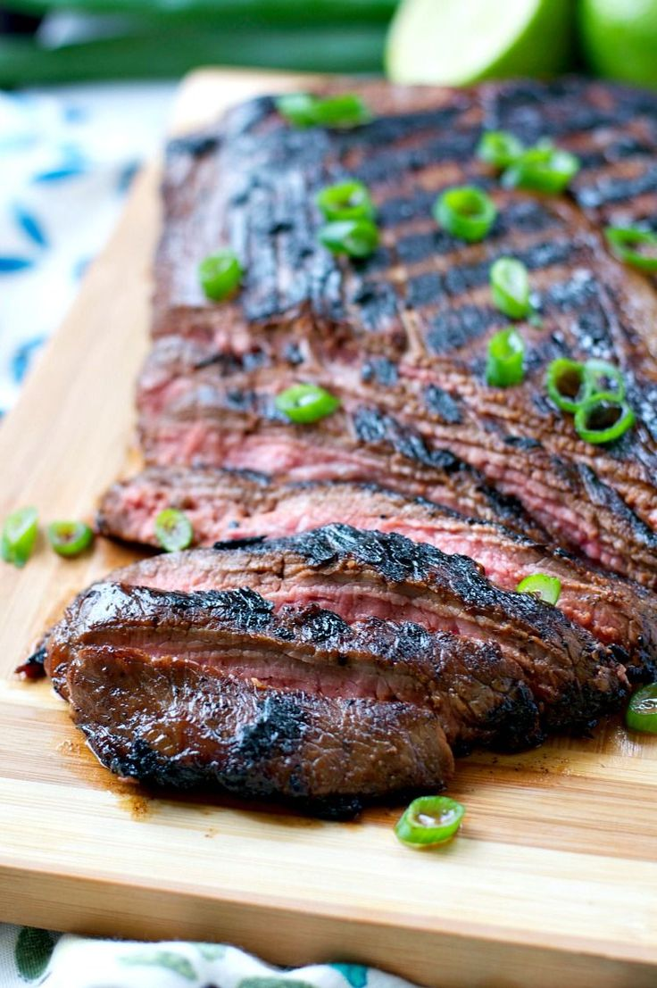 Mom\\\'s Easy Marinated Flank Steak on MyRecipeMagic.com