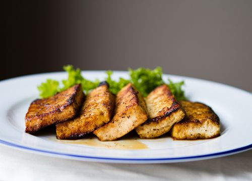 EASY MAPLE-TAMARI SEARED TOFU http://www.babble.com/best-recipes/easy-maple-tamari-seared-tofu/ ⇨ Follow City Girl at link https://www.pinterest.com/citygirlpideas/ for great pins and recipes!  ☕