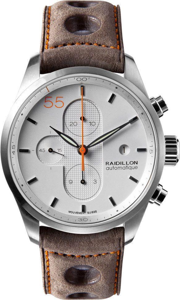 Raidillon Watch Design Chronograph Limited Edition 2990€