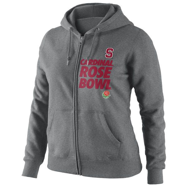 Nike Stanford Cardinal Women's 2013 Rose Bowl Bound Full-Zip Hooded Sweatshirt - $29.99