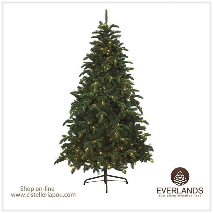 decoracin de navidad rbol artificial de alta calidad abeto de navidad con luz led