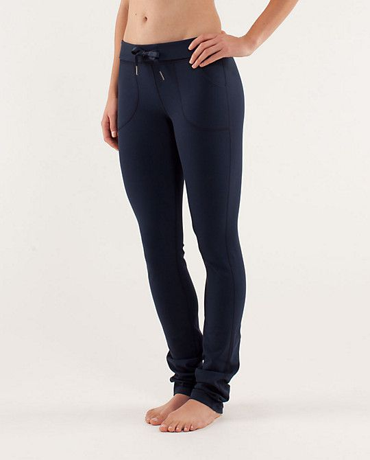 I love lululemon's pants!!! These are the skinny will pants.