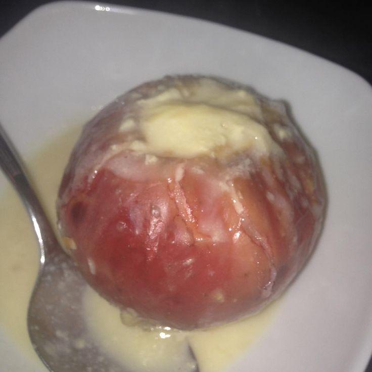@fraunasenbaer hat den Apfel schön in Sauce ertränkt!