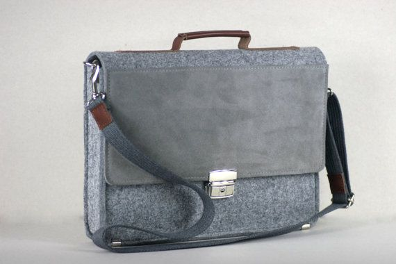 FELT 13 MACBOOK BRIEFCASE 133 felt leather case genuine by FUTERAL