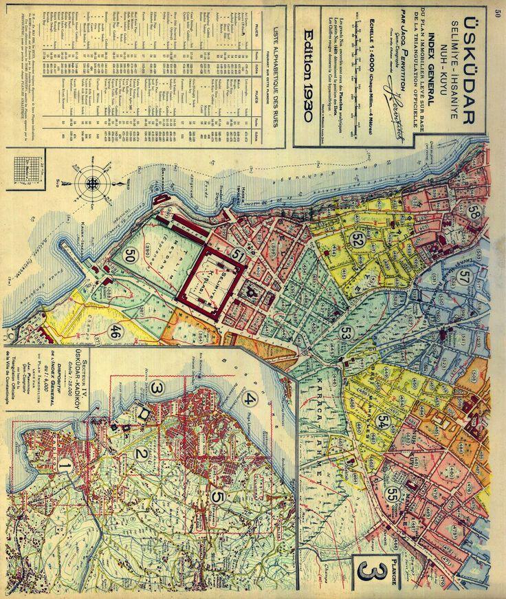 burada istanbul var: Pervititch Haritaları